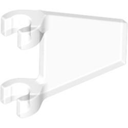 Trans-Clear Flag 2 x 2 Trapezoid