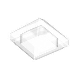 Trans-Clear Slope 45 1 x 1 x 2/3 Quadruple Convex Pyramid - new