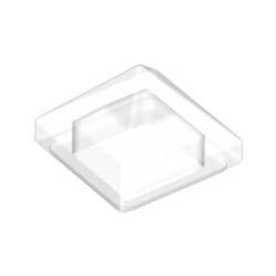 Trans-Clear Slope 45 1 x 1 x 2/3 Quadruple Convex Pyramid
