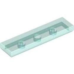 Trans-Light Blue Tile 1 x 4