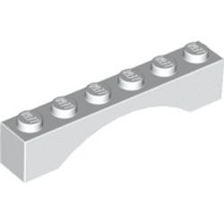 White Arch 1 x 6