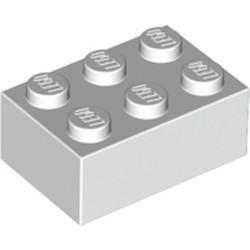 White Brick 2 x 3