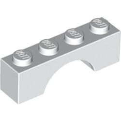 White Brick, Arch 1 x 4 - new