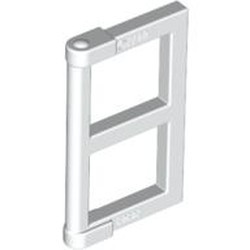 White Pane for Window 1 x 2 x 3 with Thick Corner Tabs - used