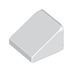 White Slope 30 1 x 1 x 2/3 - used
