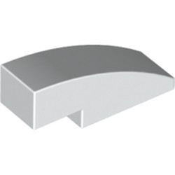 White Slope, Curved 3 x 1