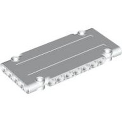 White Technic, Panel Plate 5 x 11 x 1