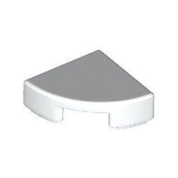 White Tile, Round 1 x 1 Quarter - new