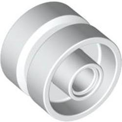 White Wheel 18mm D. x 14mm