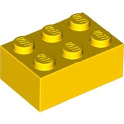 Yellow Brick 2 x 3 - used