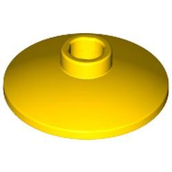 Yellow Dish 2 x 2 Inverted (Radar)