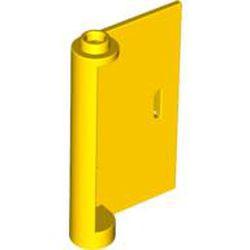 Yellow Door 1 x 3 x 4 Right - Open Between Top and Bottom Hinge