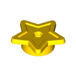 Yellow Friends Accessories Star with Stud Holder