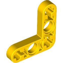 Yellow Technic, Liftarm, Modified Bent Thin L-Shape 3 x 3