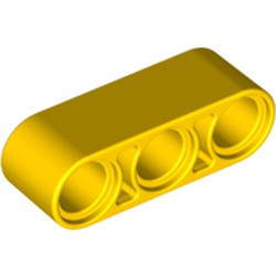 Yellow Technic, Liftarm Thick 1 x 3
