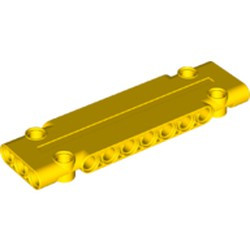 Yellow Technic, Panel Plate 3 x 11 x 1 - new