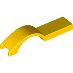 Yellow Vehicle, Mudguard 1 x 4 1/2