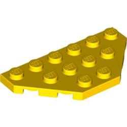 Yellow Wedge, Plate 3 x 6 Cut Corners