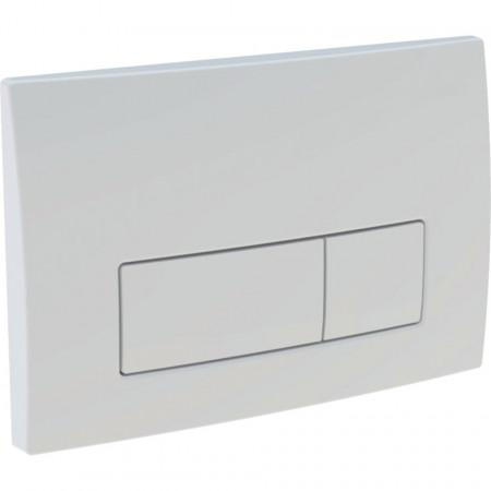 Clapeta de actionare Geberit Delta51 pentru spalare cu doua volume de apa alb alpin  115.105.11.1