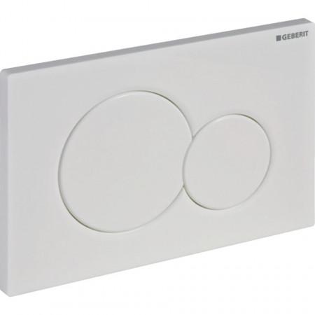 Clapeta de actionare Geberit Sigma01 pentru spalare cu doua volume de apa 115.770.11.5 alb alpin