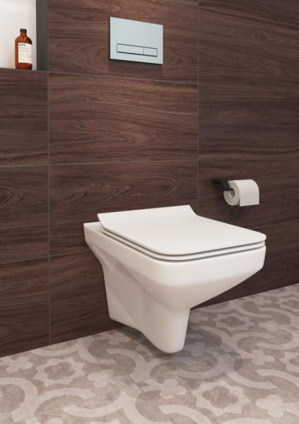 K701-102 vas wc suspendat cu capac soft close como cleaon cersanit