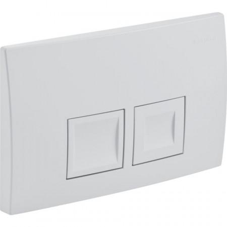 Clapeta de actionare Geberit Delta50 pentru spalare cu doua volume de apa alb alpin  115.135.11.1