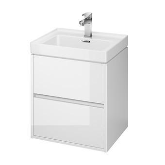 Dulap suspendat Crea Cersanit pentru lavoar, 50 cm s924-002 alb