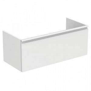 Dulap baza suspendat pentru lavoar Tesi Ideal Standard cu 1 sertar, 100 cm, diverse culori