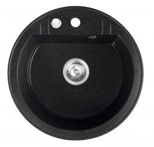 drgm1-51ha ferro mezzo ii grafit stralucitor chiuveta cu 1 cuva