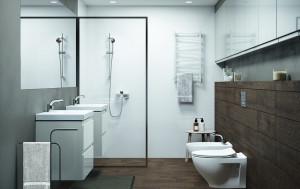 cersanit moduo ambient mobilier cabina vas wc bideu suspendat