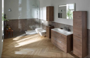ambient geberit selnova square vas wc suspendat bideu capac wc mobilier stejat