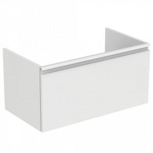 Dulap baza suspendat pentru lavoar Tesi Ideal Standard cu 1 sertar, 80 cm, diverse culori