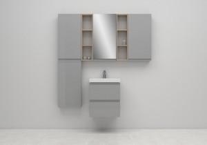 Ambient cersanit moduo gri coloana oglinda