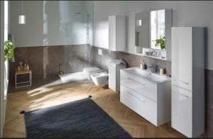 ambient geberit selnova square vas wc suspendat bideu capac wc mobilier alb