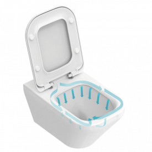 tonic ii aquablade ideal standard K316701  vas wc suspendat cu capac