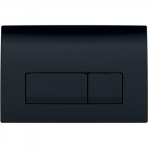 Clapeta de actionare Geberit Delta51 pentru spalare cu doua volume de apa negru 115.105.DW.1