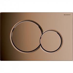 Clapeta de actionare Geberit Sigma01 pentru spalare cu doua volume de apa 115.770.DT.5 alama galvanizata
