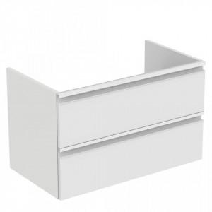 Dulap baza suspendat pentru lavoar Tesi Ideal Standard, 80 cm, diverse culori