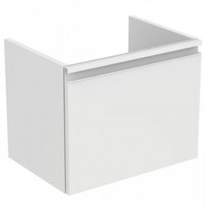 Dulap baza suspendat pentru lavoar Tesi Ideal Standard cu 1 sertar, 50 cm, diverse culori