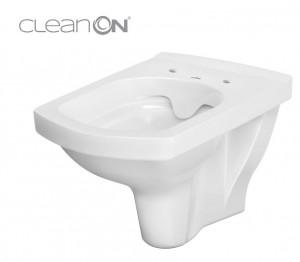 vas wc suspendat easy cleanon cu capac soft close cersanit