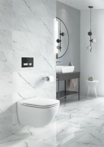 K11-0233 cersanit caspia vas wc suspendat alb ceramica sanitara