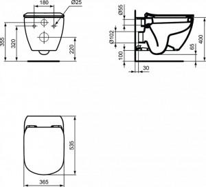 t007801 schita tehnic cu dimensiuni tesi ideal standard