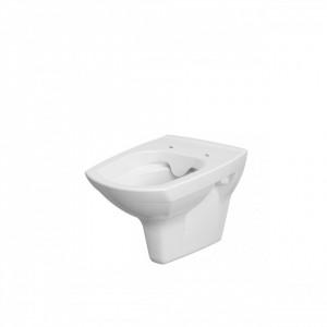 cersanit carina cleanon vas wc suspendat cu capac