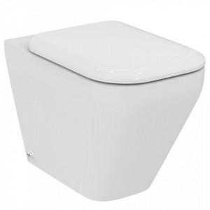 Vas wc stativ Ideal Standard Tonic II AquaBlade, lipit de perete + capac wc