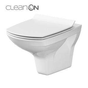 cersanit carina clean on vas wc suspendat
