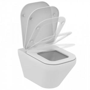 Vas wc suspendat Ideal Standard Tonic II Aquablade+ capac wc soft-close