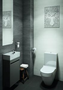 Ambient cersanit crea mobilier vas wc stativ