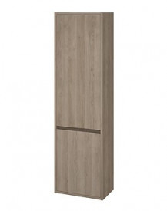 S924-024 stejar Dulap coloana suspendat Crea Cersanit, 140 cm