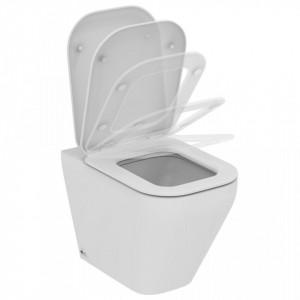 Vas wc stativ Ideal Standard Tonic II AquaBlade, lipit de perete + capac wc soft-close