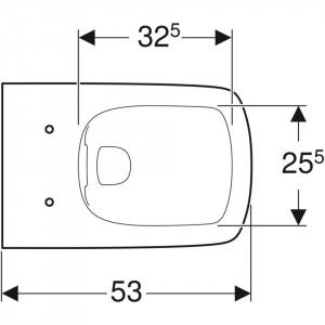 geberit selnova square 500.275.01.1 schita tehnica vas wc suspendat